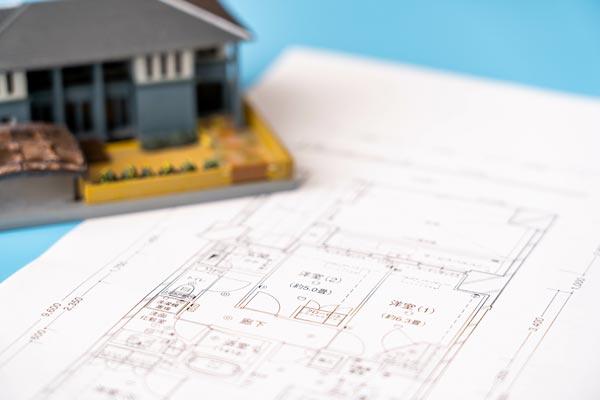 間取り図(一戸建て、マンションの場合) 住宅模型と間取り図