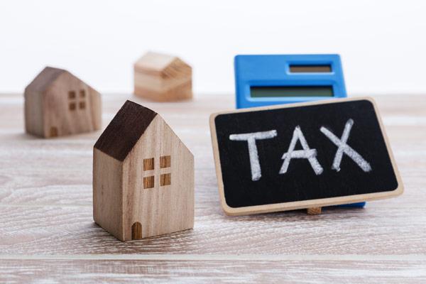 買い替え時の税金 住宅模型